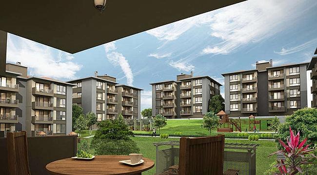 Eskişehir Dora City'de 375 bin TL'ye 3+1 daire fırsatı