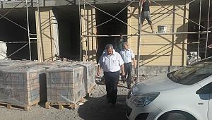 Burhaniye'de toplu konut inşaatı ziyaretçilere açıldı