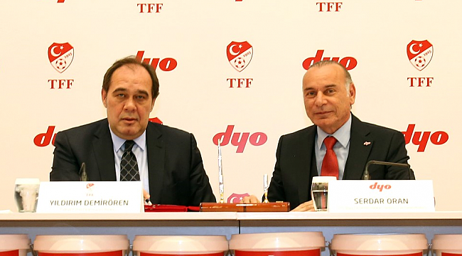 Dyo'dan Milli Takım'a destek: Anlaşma yenilendi