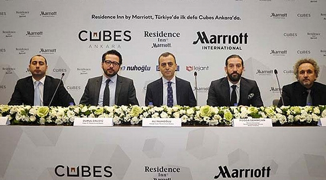 Cubes Ankara Marriott International ile anlaştı
