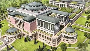 En Büyük Kütüphane Beştepe Külliyesi'nde Yükseliyor