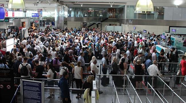 İstanbul havadaki yükün yüzde 72'sini taşıdı
