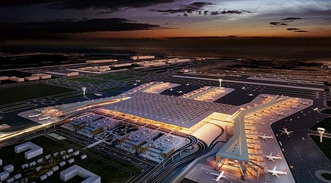 3. Havalimanı'nda Işıklandırma Sistemi Devreye Alındı