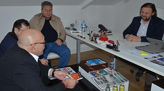 Eski Kırgız Bakan Askar Aytmatov'dan projemlak.com'a ziyaret