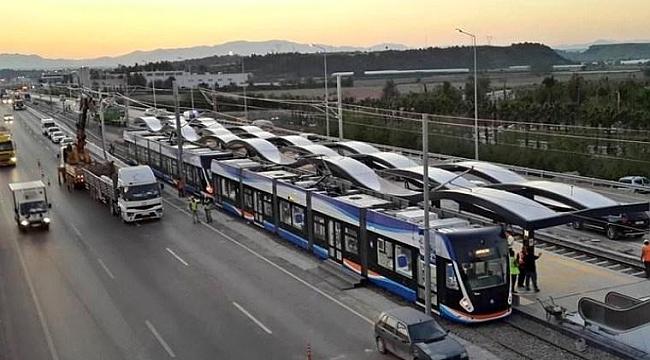 Antalya raylı sistem projesinin ihalesi yapıldı