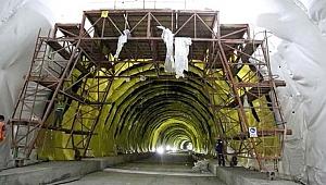 Mevlana Tüneli inşaatında sona gelindi
