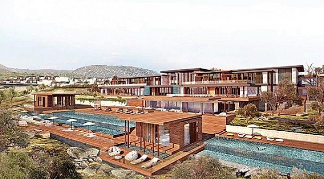 Four Seasons Bodrum Resort projesi için düğmeye basıldı