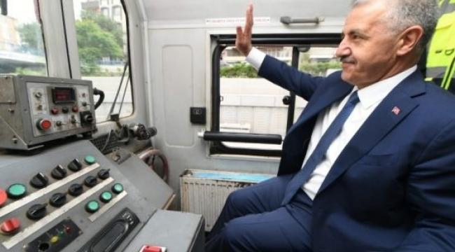 Gebze-Halkalı Banliyö Hattı'nda test sürüşü yapıldı!