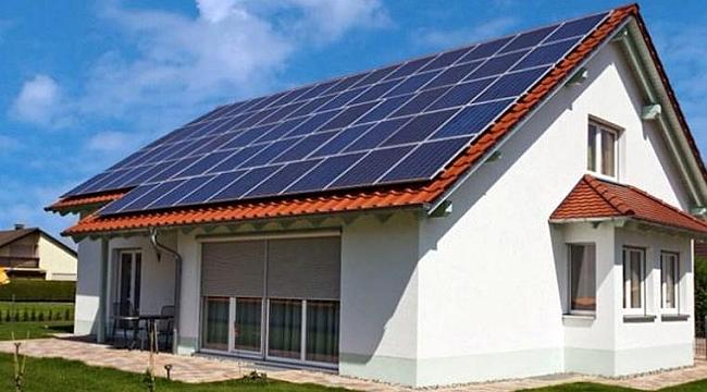 Çatıda elektriğini üreten vergi vermeyecek