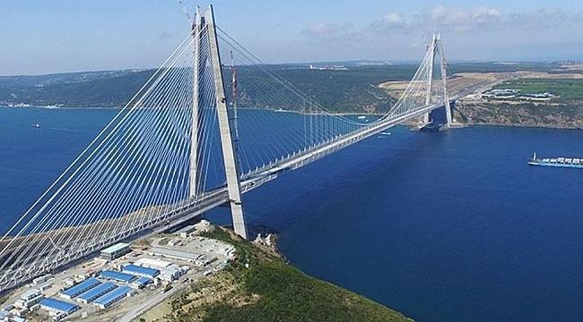 Yavuz Sultan Selim Köprüsü satışa çıktı