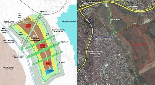 TOKİ' den Küçükçekmece' ye Yeni Bir Konut Projesi