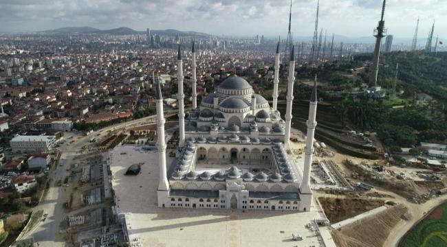 Büyük Çamlıca Camisi'nin ilginç mimari özellikleri