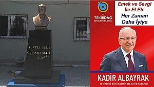 Tekirdağ Büyükşehir Belediyesi Atatürk'ün hatırasını sahip çıkıyor