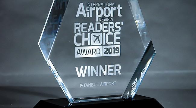 'Yılın Havalimanı' Ödülü İstanbul Havalimanı'nın…
