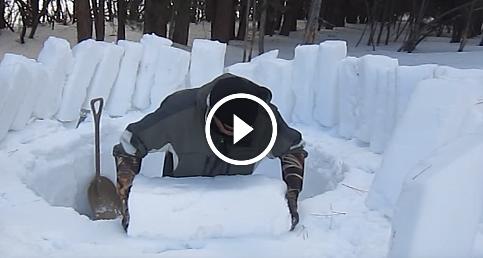 Buzdan ev nasıl yapılır?