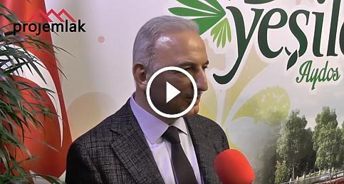 Kiptaş Genel Müdürü İsmet Yıldırım Yeşilce Aydos'u anlattı