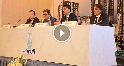 Ebruli Ispartakule projesi basına tanıtıldı